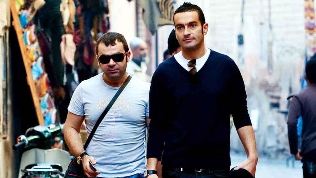 Jorge Javier junto a Paco.  Gtres.