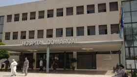 Imagen del hospital donde le fue practicada la cesárea a la parturienta.