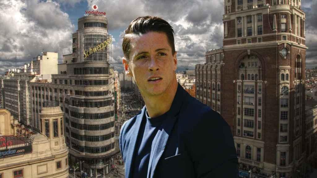 Fernando Torres en un montaje.