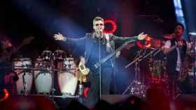 Alejandro Sanz durante el concierto del pasado 8 de diciembre de 2017.