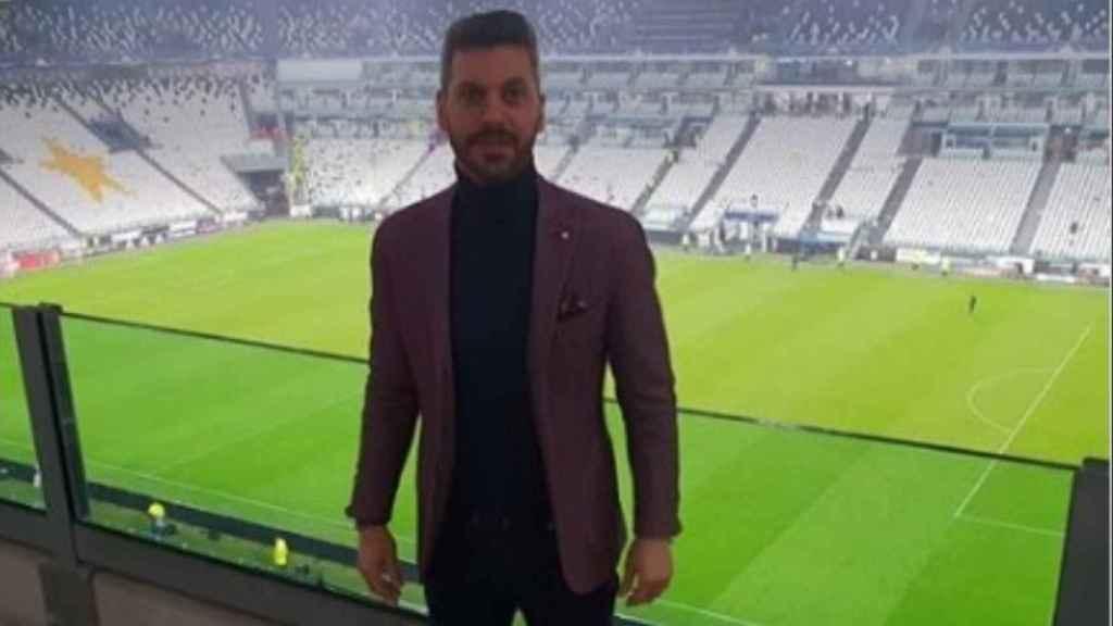 René Ramos en el Juventus Stadium. Foto: Instagram (@reneramosoficial)