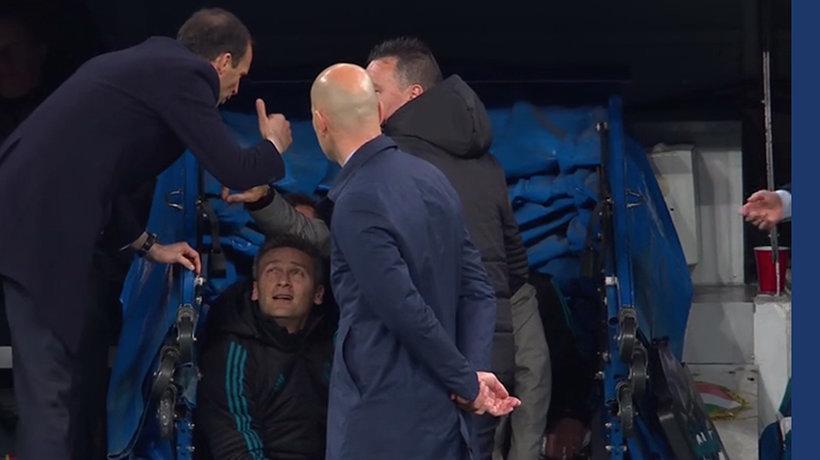 Así fue el penalti a favor del Real Madrid en el último minuto