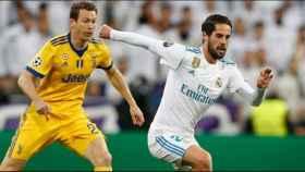 Isco, en el Real Madrid-Juventus