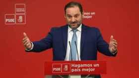 José Luis Ábalos, secretario de Organización del PSOE, este viernes en Madrid.