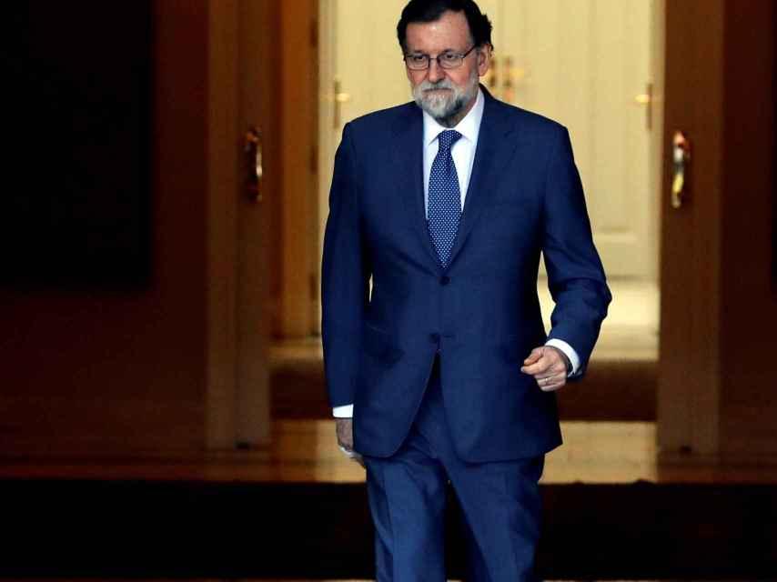 RAJOY RECIBE AL PRIMER MINISTRO DE DINAMARCA