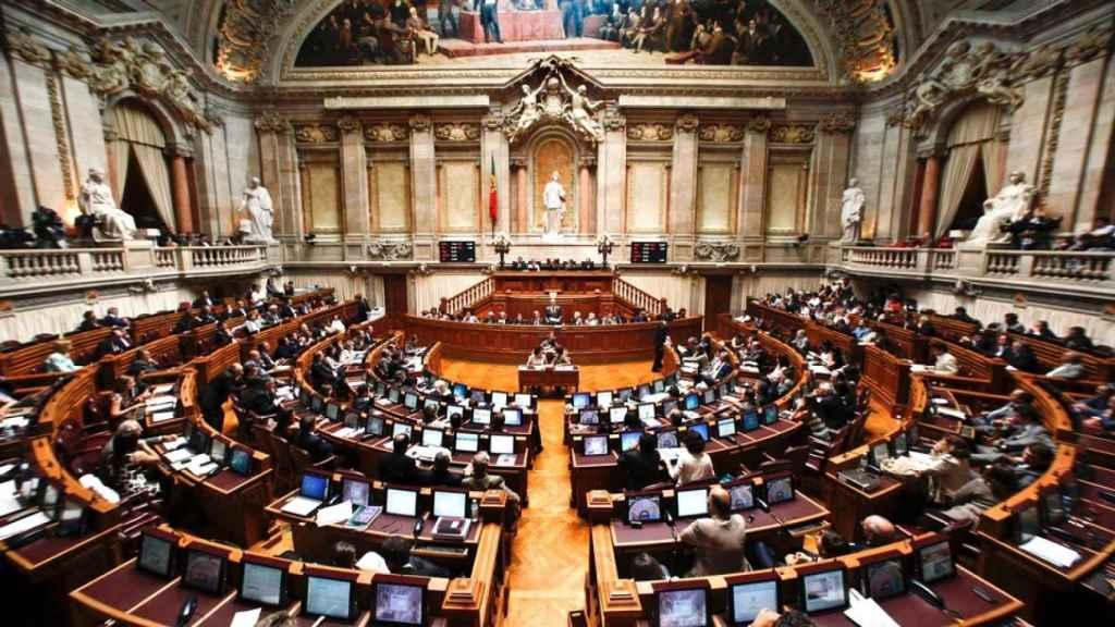 Hemiciclo del Parlamento portugués