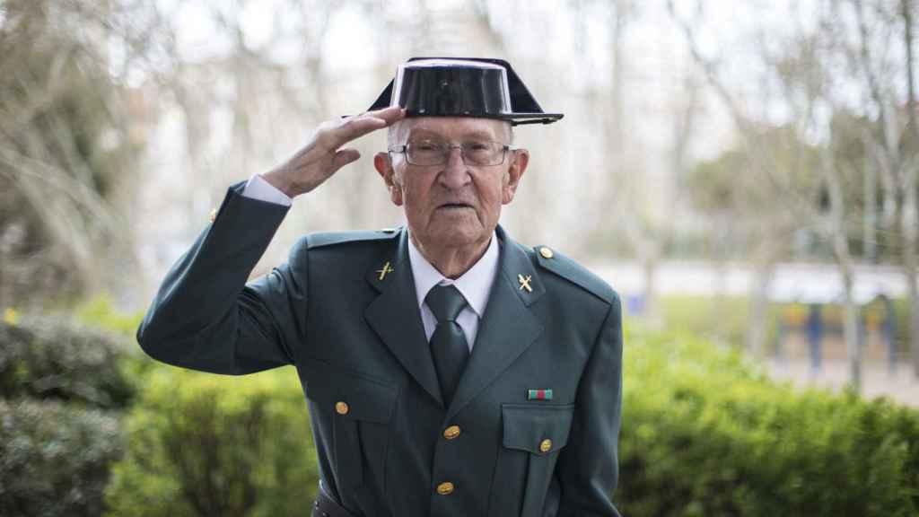 Fermín Garcés Hualde, nacido en Valtierra (Navarra) en 1931.