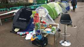 La Barcelona de Ada Colau: el chabolismo se enquista en la plaza Cataluña
