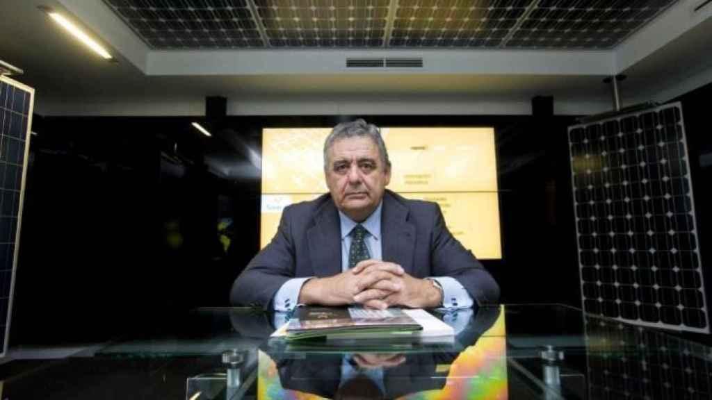 Enrique Díaz-Tejeiro, presidente de la empresa renovable Solaria.