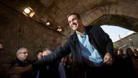 Pedro Sánchez, hace unos días en un acto en Cantabria.