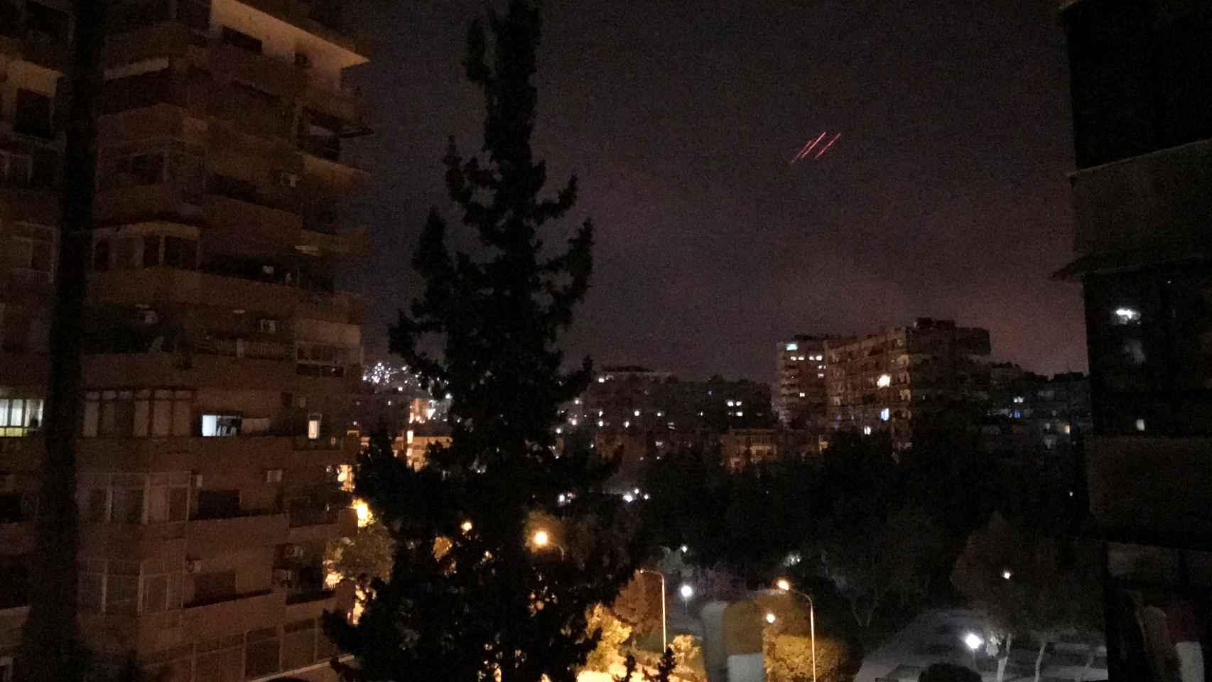 Las primeras imágenes del ataque a Siria