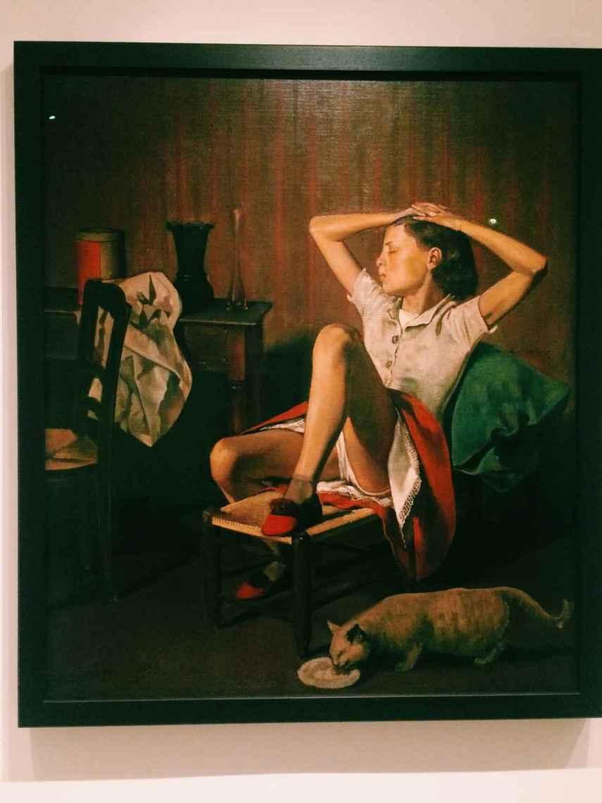 Thérèse Dreaming, la polémica obra de Balthus.