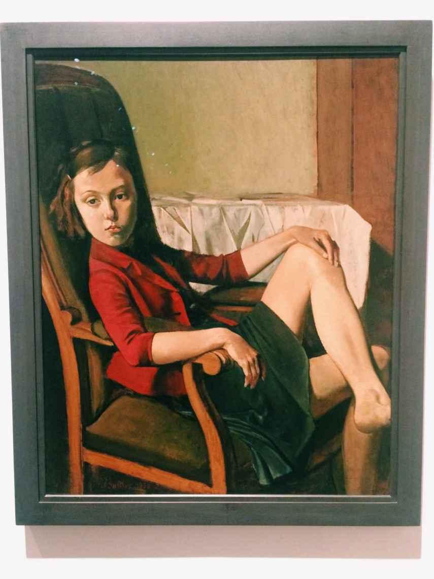 Therese, la obra de Balthus.