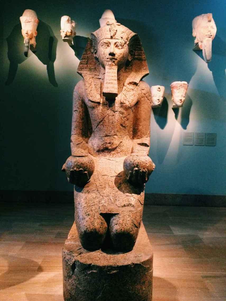 Hatshepsut, la faraona mujer de la dinastía XVIII de Egipto.