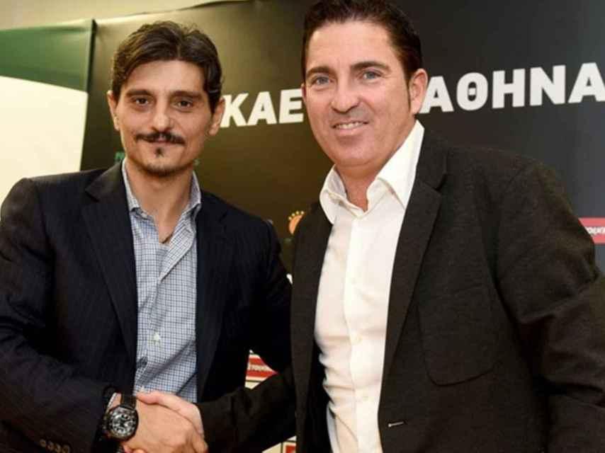 No todos caen en gracia al dueño del Panathinaikos, pero Pascual lo ha conseguido.