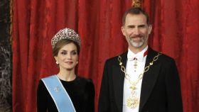 Letizia y Felipe VI.
