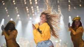 Beyoncé, en su actuación de Coachella.