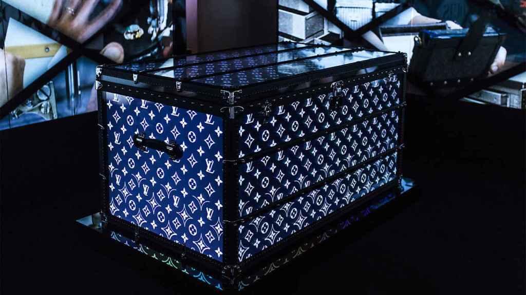 Una imagen de una exposición de Louis Vuitton.