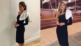 Lourdes Montes y Jessica Bueno con el mismo vestido.