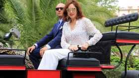 Ana Rosa Quintana y su marido, Juan Muñoz.