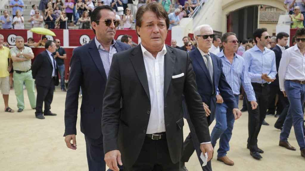 Vicente Ruiz 'El Soro' en primer plano.