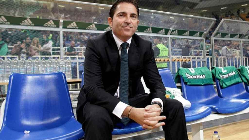 Xavi Pascual quiere seguir progresando en Atenas. Próximo objetivo: eliminar al Madrid.