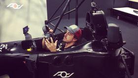 Alonso pasó sin problemas el test en el simulador de Le Mans.