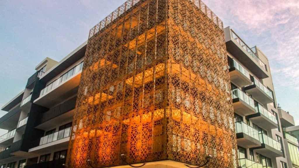 Fachada del It Hotel & Residences de Sercotel en México.