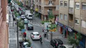 Panorámica de la calle Pedro Antonio de Alarcón, donde sucedieron los hechos.
