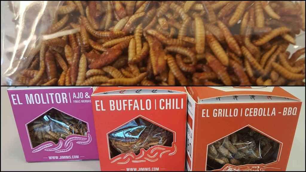 Carrefour se lanza a la venta de insectos: gusanos y grillos especiados a 500 euros el kilo