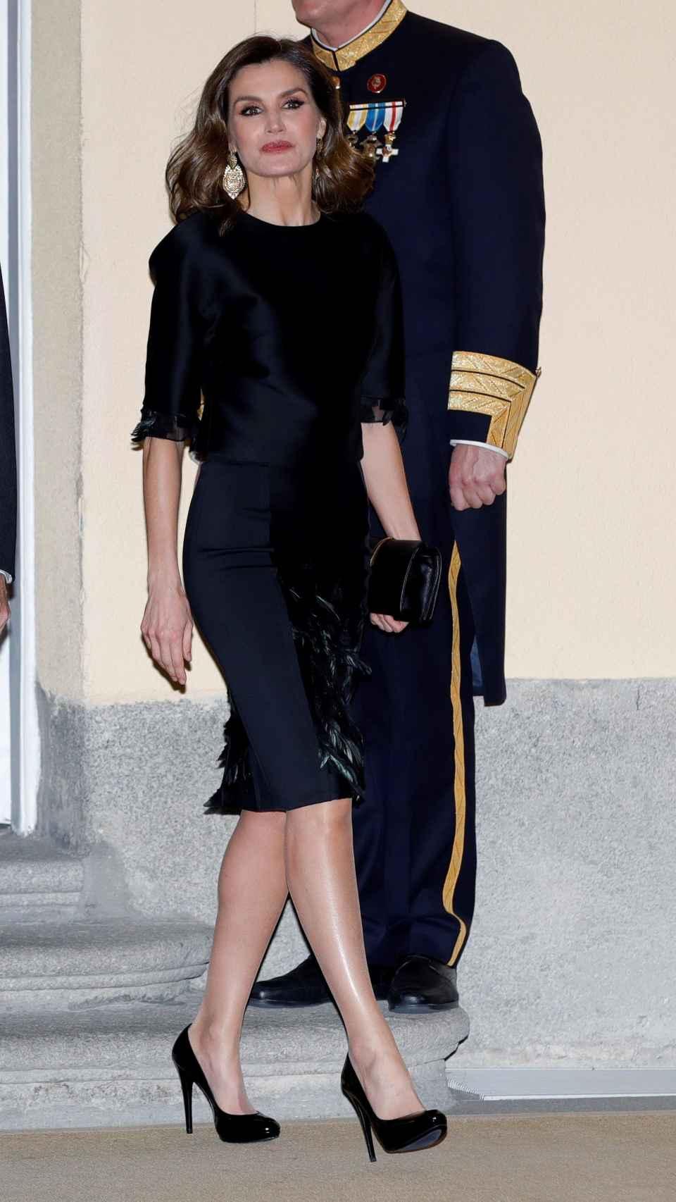 Letizia en el Palacio Real de El Pardo