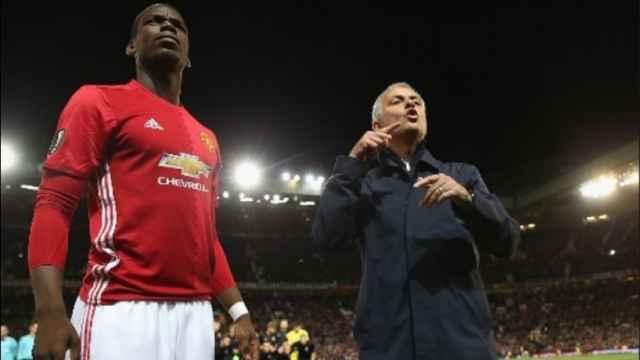 Mourinho y Pogba