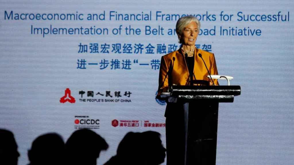Christine Lagarde, la presidenta del FMI.