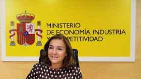 Carmen Vela, secretaria de Estado de Investigación, Desarrollo e Innovación, en un acto en el Ministerio.