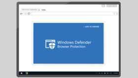 microsoft windows defender browser protection navegador web google chrome antivirus