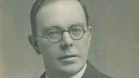 El psicólogo Cyril Burt.
