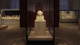 La dama de Elche en el Museo Arqueológico Nacional.