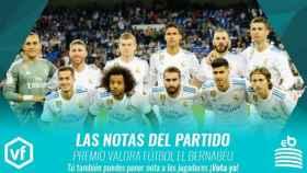 Las notas del Real Madrid - Athletic