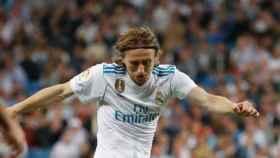 Luka Modric, en un partido del Real Madrid