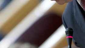 El ministro de Hacienda, Cristóbal Montoro, en una intervención reciente en el Senado.
