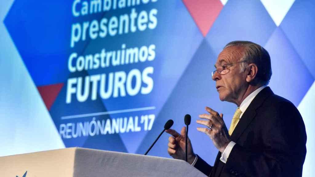 Isidre Fainé, presidente de la Fundación Bancaria La Caixa y de Criteria.