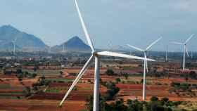 Parque eólico construido por Siemens Gamesa