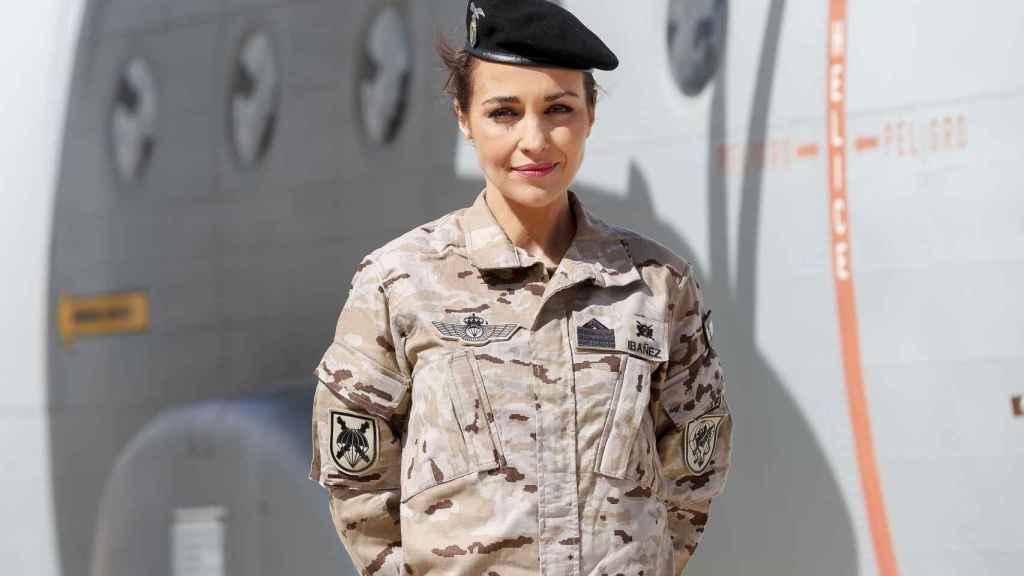 La actriz en la promoción de 'Los Nuestros'. GTRES.