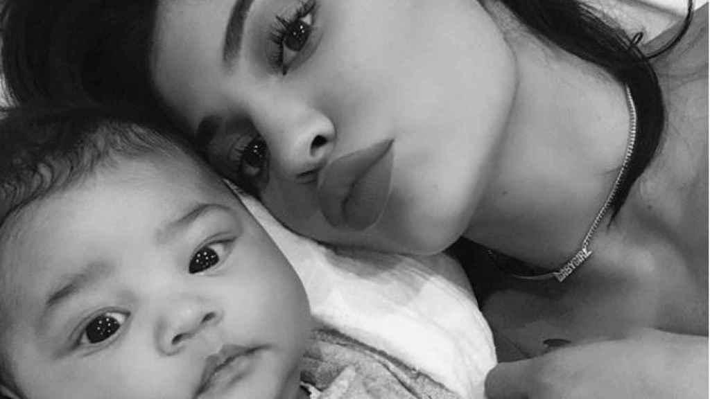 Kylie y su hija Stormi.