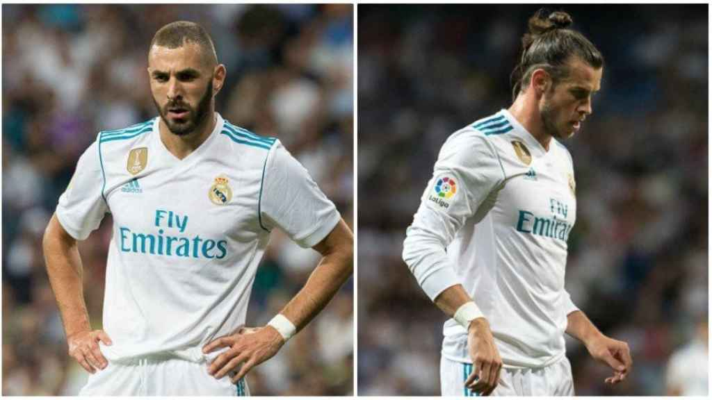 Benzema y Bale