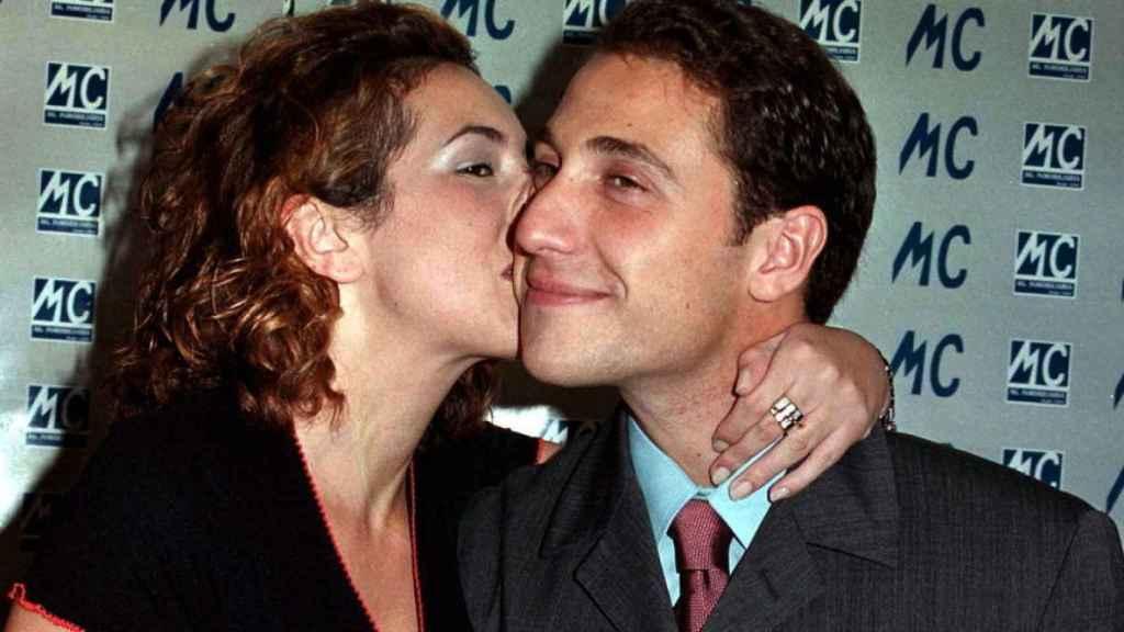 Rocío y Antonio David durante su relación.