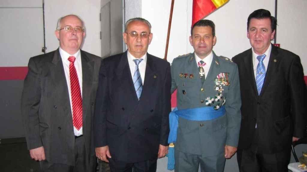 Juan Hernández Mosquera en un acto siendo jefe de la GAO en 2011.