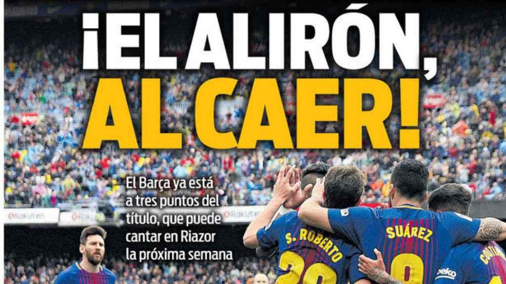 Portada Sport (20/04/18)