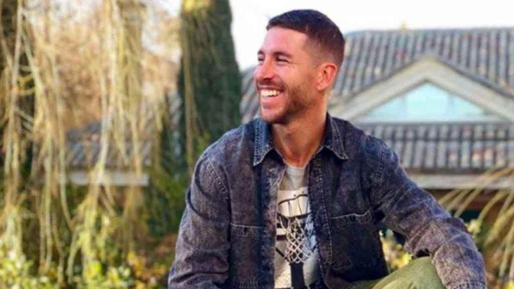 Sergio Ramos. Foto Instagram (@sergioramos)