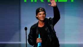 Avicii durante una gala de los American Music Awards en Los Angeles